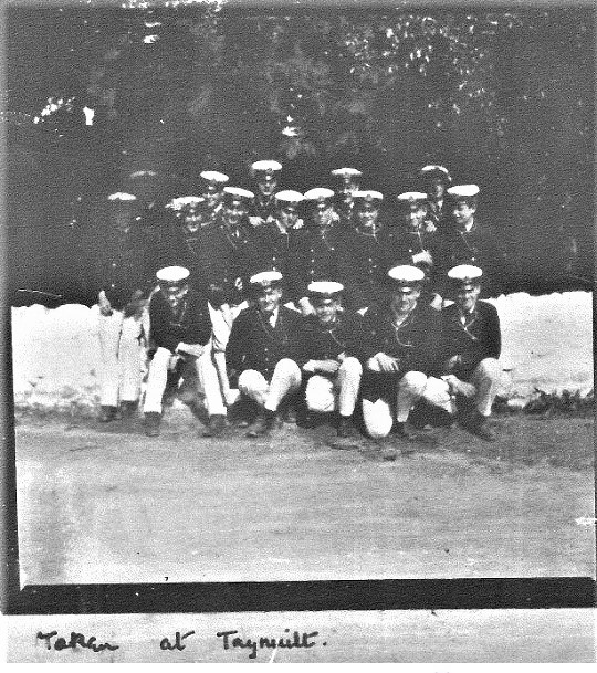 HMS Brittania 1905 cadets from lost album