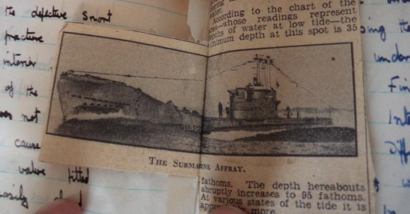Michael Heath Caldwell M Arch Naval Diary 1951 2 17th