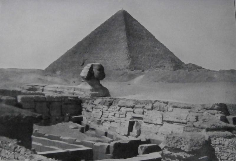 Cairo, Sphinx and Pyramid