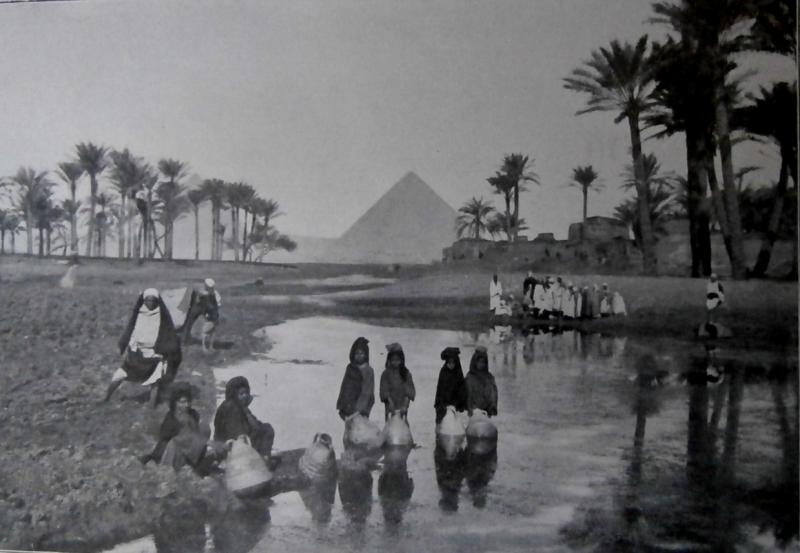 Environs of Pyramids during inundations