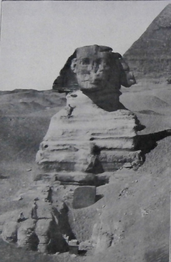 Sphinx in the sand