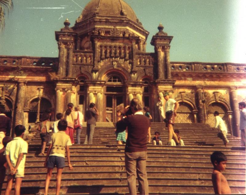Front steps of Ahsan Manzil 1974