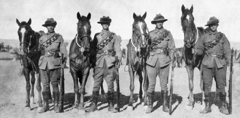 7th Light Horse Eygpt 1915