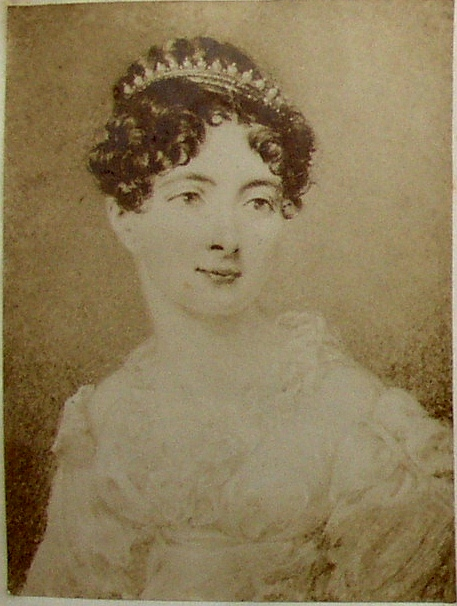 Anne r heath painting by miss sharpe first lived at kitlands in 1815