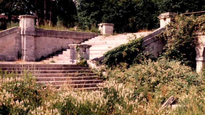 Stairways at the Crystal Palace