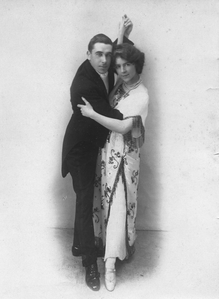 George Milbourne Marsh and Annie 1920