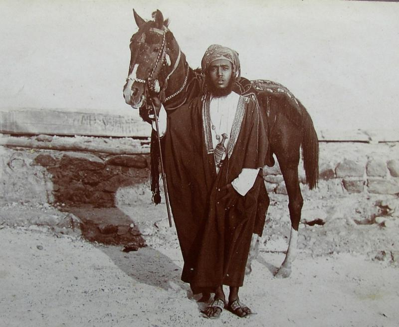Sultan of Oman in 1913