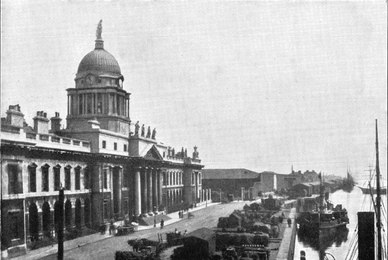 Customs House Dublin 1890s